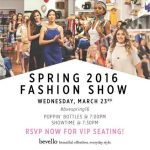 {You're Invited} Spring Fashion Show at bevello