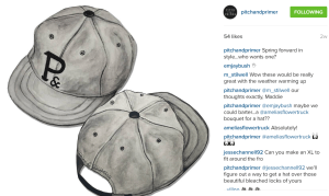 Pitch & Primer shares product concepts on Instagram