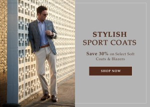 Save 30% on stylish sport coats from Peter Millar