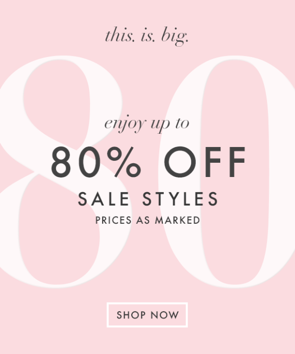 Up to 80% off sale items at Moon & Lola