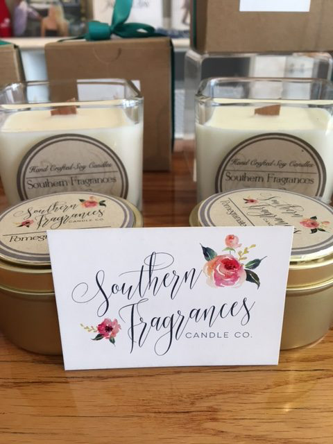 Southern Fragrances Candle Co. at Jarrett Bay in North Hills