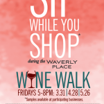 Waverly Place Wine Walk Returns