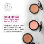 Girls Night Out at Front Row Cosmetics in Downtown Raleigh
