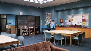study community backgrounds shows favorite college greendale using been sitcom library dreamatorium place space really pop wallpapers