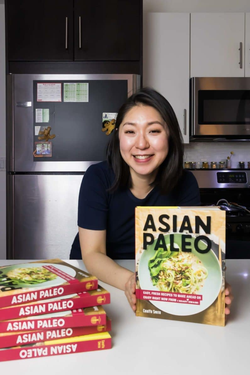 ChihYu Smith Asian Paleo Cookbook from I Heart Umami