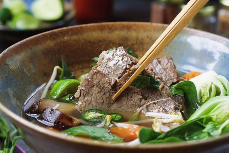 Paleo beef brisket pho recipe