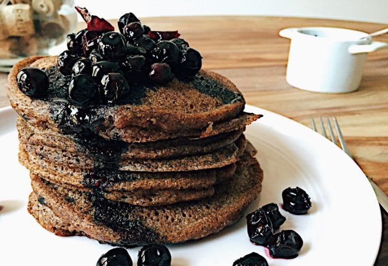 Paleo Tigernut Chocolate Pancakes