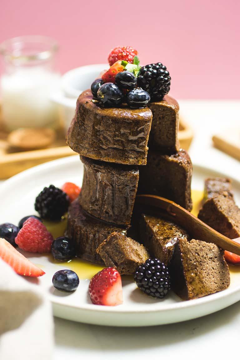 Tigernut flour chocolate souffle pancakes paleo aip i heart umami fluffy paleo tigernut flour chocolate souffle pancakes recipe perfectly healthy easy and aip pancake ccuart Choice Image