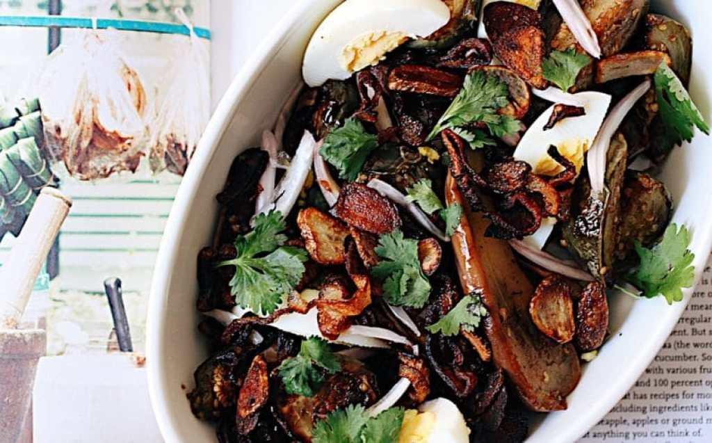 Chilled Eggplant Salad