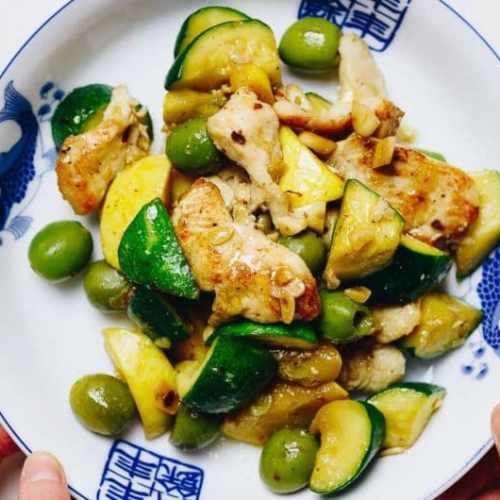 Chicken Zucchini Stir Fry Paleo Whole30 Keto I Heart Umami