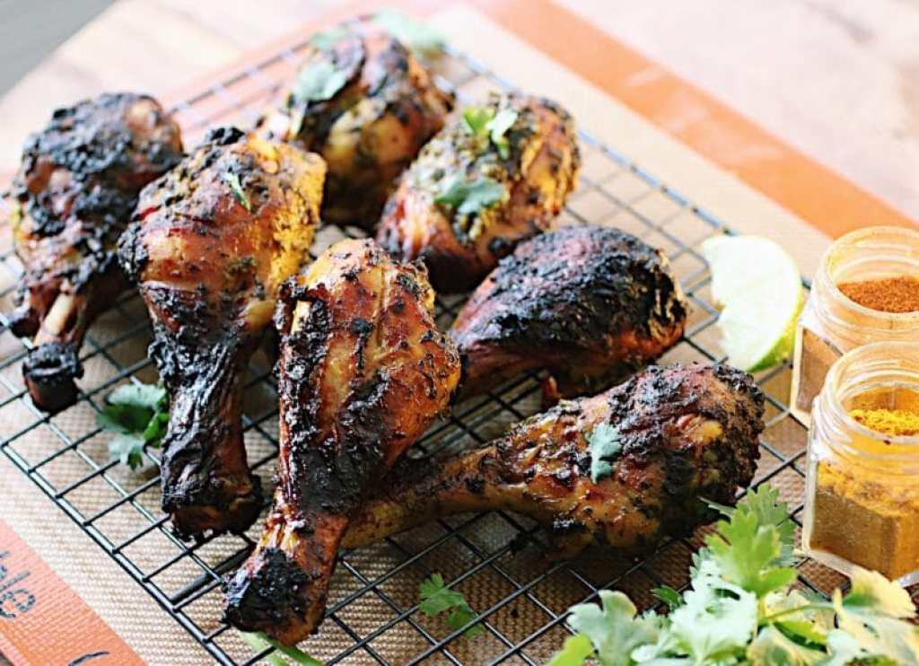 Resized green chicken