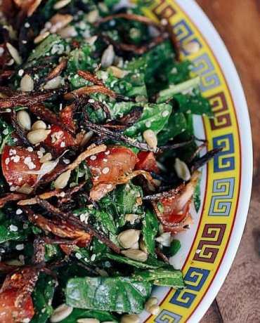 Chopped salad, Burma style