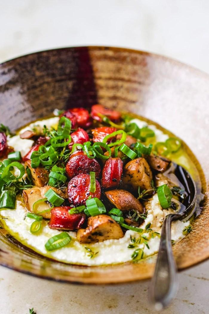 Grits Recipe for Whole30 Meal Prep I Heart Umami