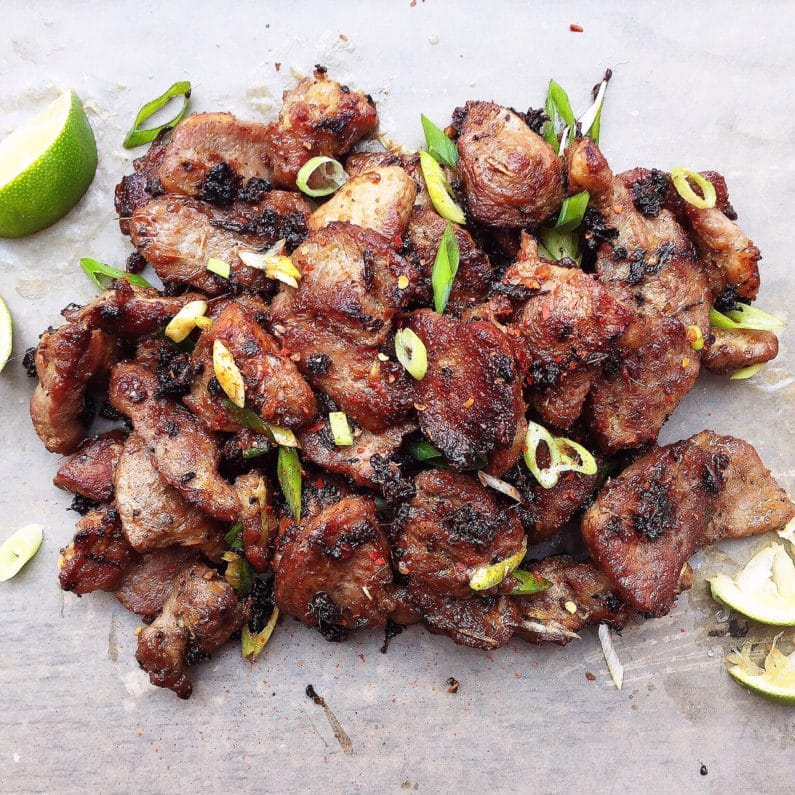 Vietnamese Lemongrass Grilled Pork Recipe