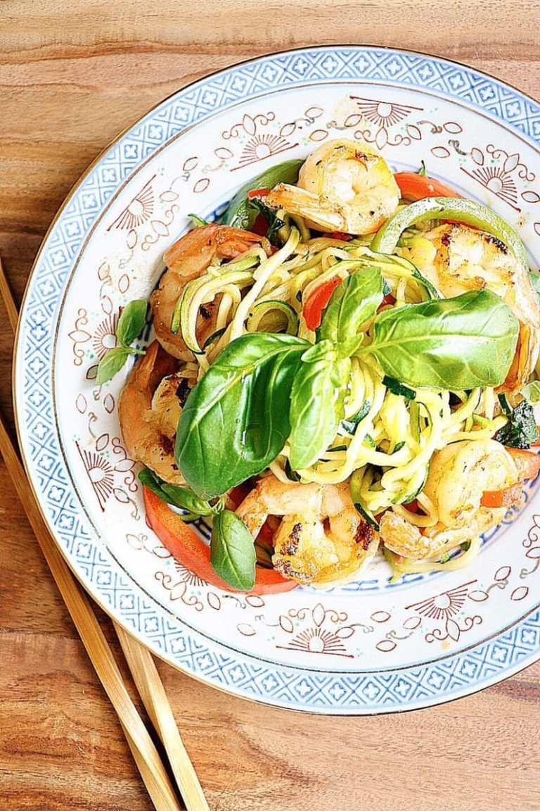 Spicy Shrimp Spaghetti Noodles