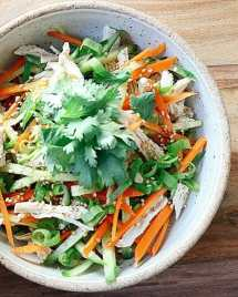 1 Minute Asian Chicken Salad