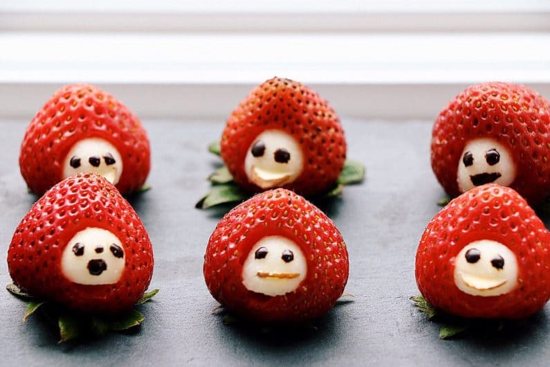 Paleo Strawberry Men Recipe