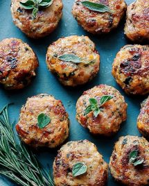 Savory Breakfast Meatballs