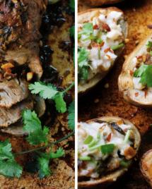 Paleo Tender Pork Roast. Pork roast. Paleo Pork roast. dutch oven roast. slow cooker roast. i heart umami. iheartumami. Paleo Asian food.