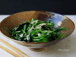 Gomaae Spinach Salad Recipe