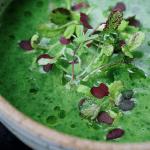 Paleo Detox Green Soup, AIP vegetable soup, Whole30 vegetable soup, Keto vegetable soup, Detox green soup, Paleo Asian food, Paleo Chinese food, I heart umami, IHeartUmami.com