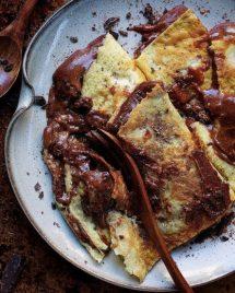 Paleo Chocolate Almond Butter Crepes I Heart Umami