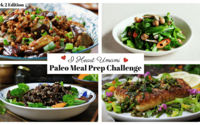 Meal Prep Challenge Week 2 July 2017
