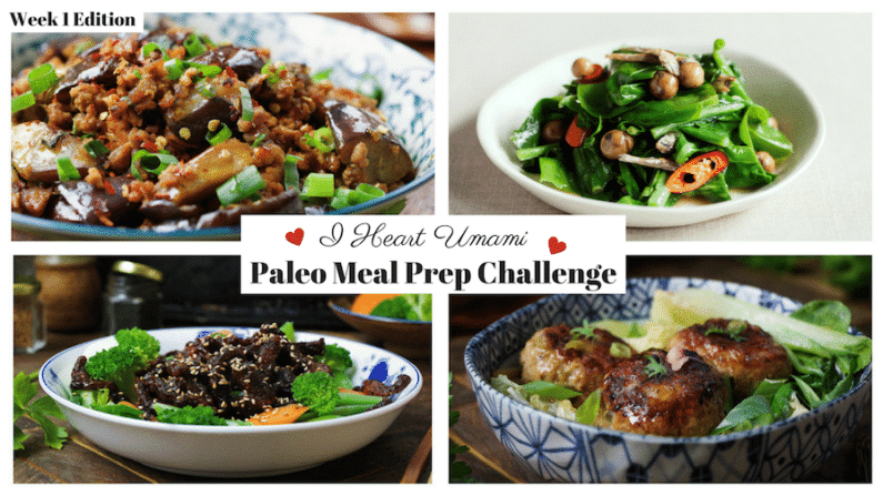 Meal Prep Challenge Week 1 July 2017