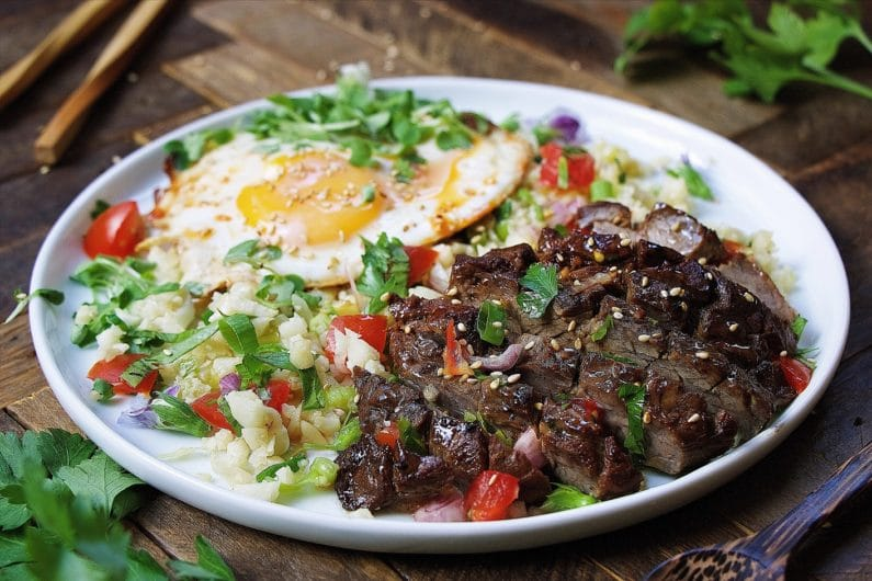 Paleo filipino skirt steak cauliflower fried rice whole30 keto recipes paleo filipino skirt steak cauliflower fried rice forumfinder Images