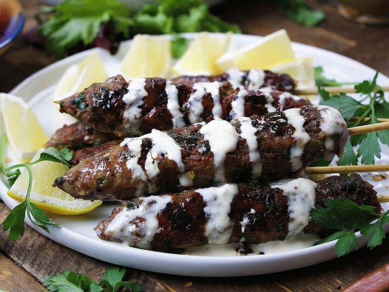 Paleo Kofta Kebabs