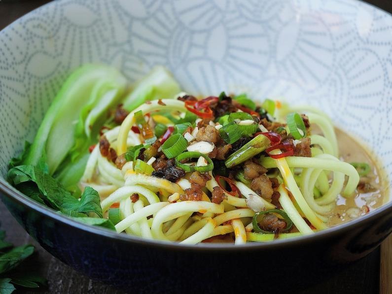 Paleo Dan Dan Noodles