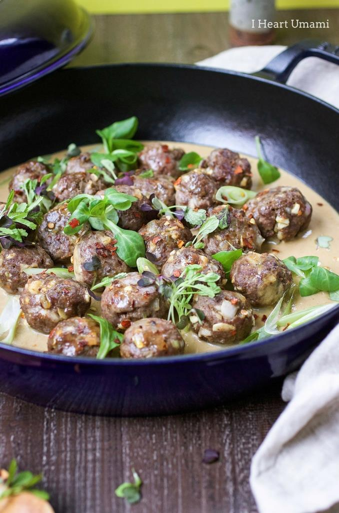 Xian-inspired cumin lamb meatballs recipe