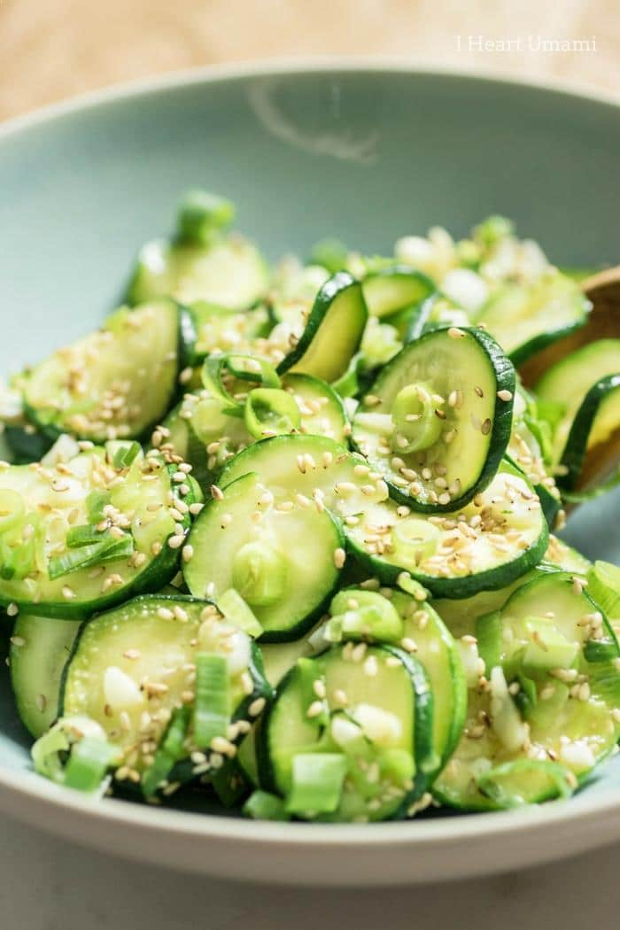Kokrean Chilled Zucchini Sides recipe