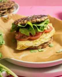 Make Ahead Whole30 Breakfast Sandwiches recipe