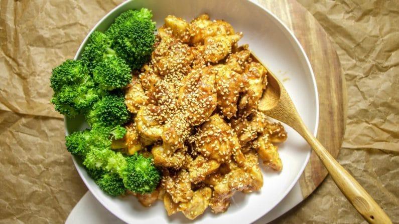 Chinese Sesame Chicken recipe Paleo Whole30 Gluten Free friendly