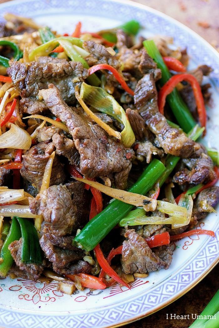 Mongolian Beef Paleo Whole30 Keto recipe