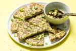 Keto Scallion Pancakes recipe Paleo friendly from I Heart Umami