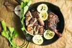 Japanese Roasted Lemon Chicken Legs recipe Paleo Whole30 Keto chicken recipe from I Heart Umami