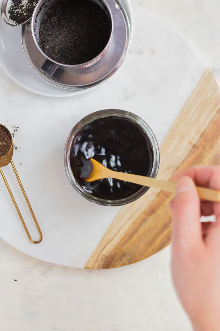 Paleo Coconut Milk Vietnamese Iced Coffee black coffee Whole30 Vietnamese Coffee