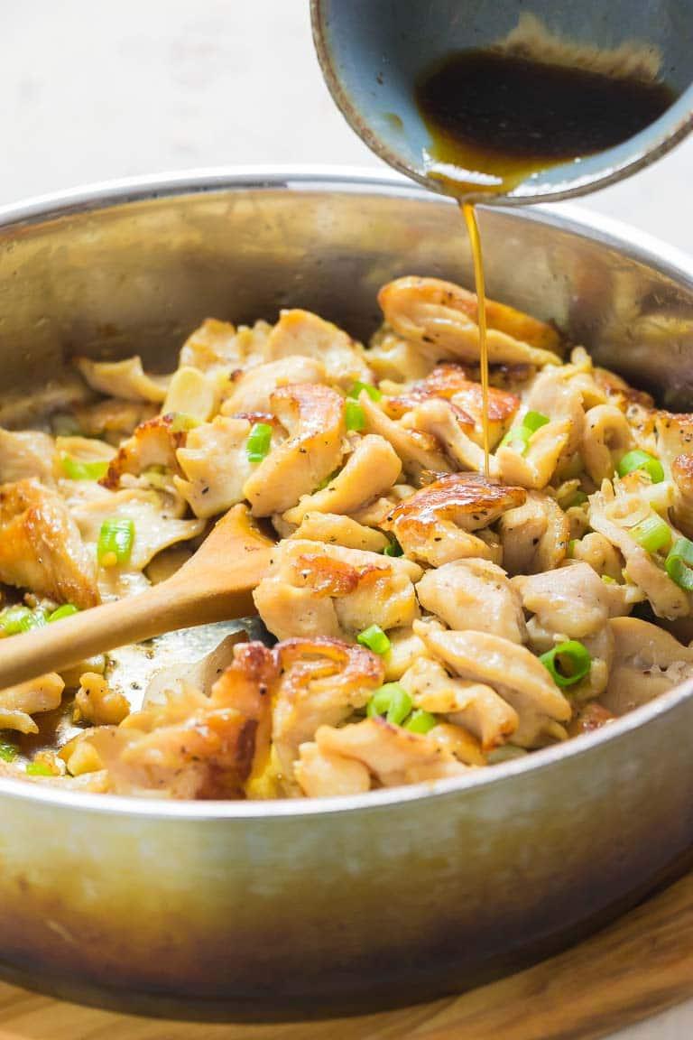 Paleo Chicken And Broccoli Stir-Fry Whole30, Keto, Low -4966