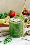 Paleo Green Smoothie recipe for energy boosting and detox!