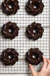Paleo Chocolate Olive Oil Cake recipe is the best gluten free and keto olive oil cake with chocolate glaze.