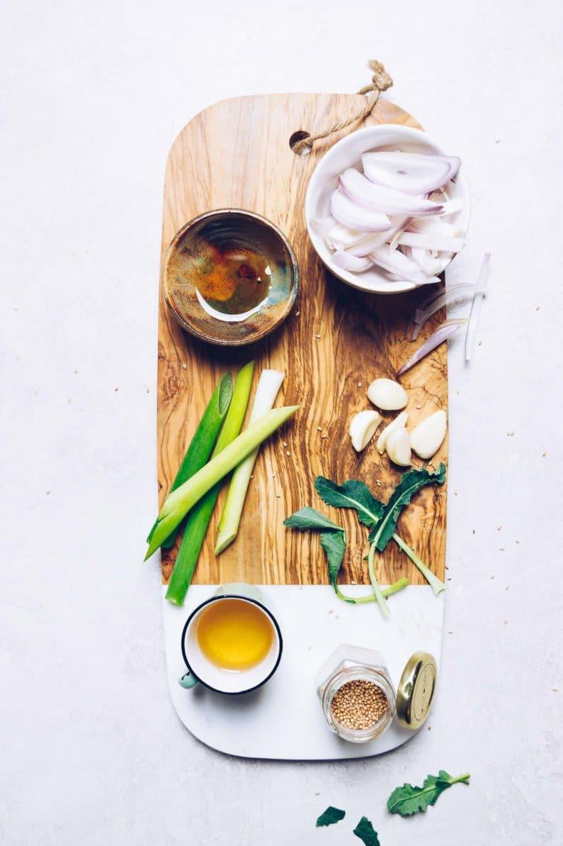Easy Whole30 Korean Beef Bowl Recipe with savory and sweet Korean bulgogi sauce.