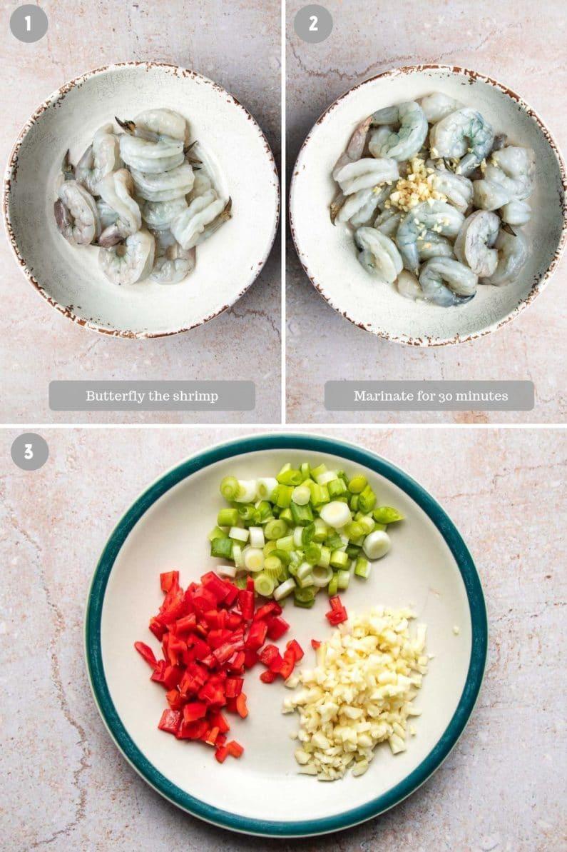 Ingredients Shrimp Marinade for garlic shrimp