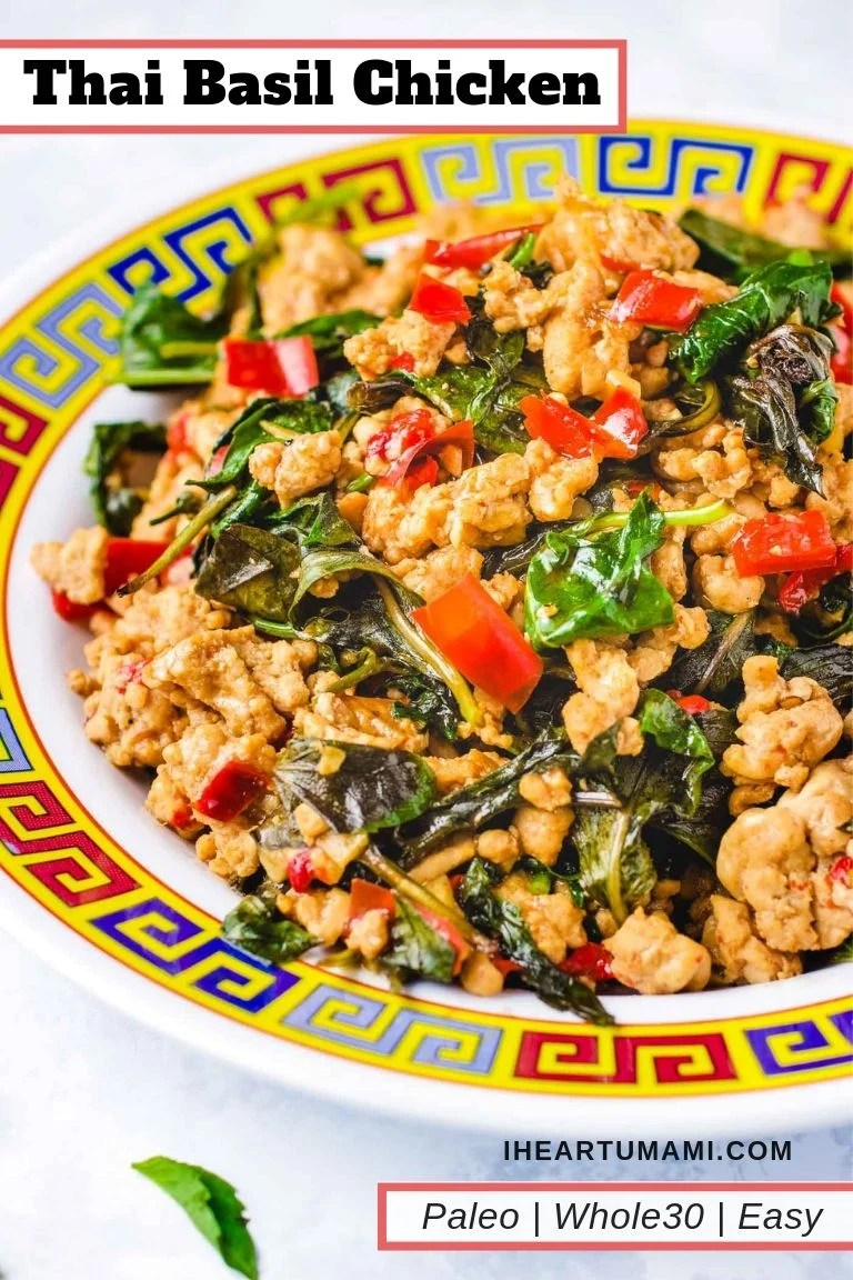 Whole30 Thai basil chicken recipe