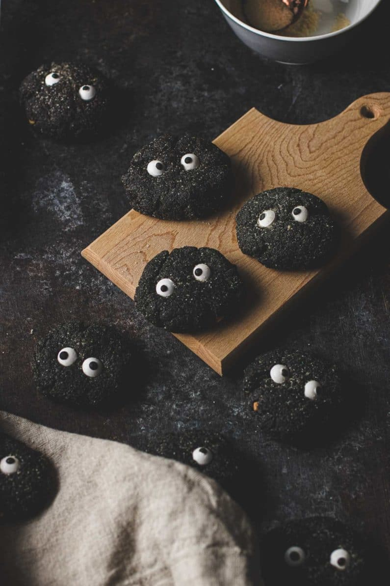 Black Sesame Soot Sprite Cookies I Heart Umami