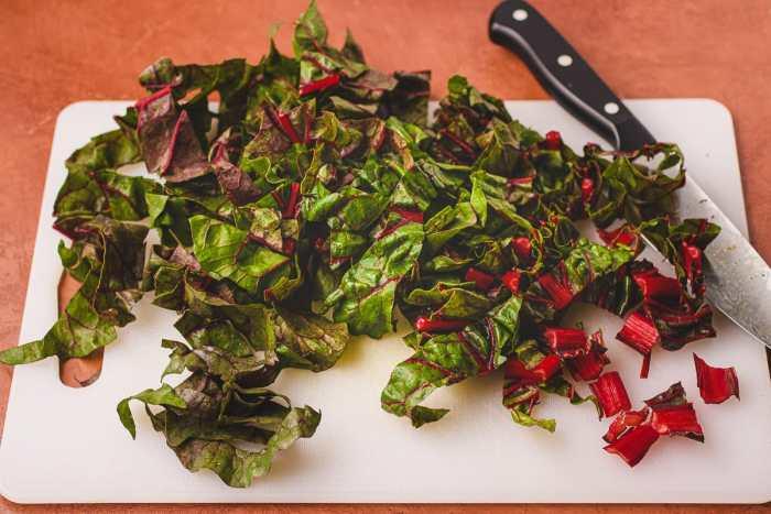 How to prepare swiss chard I Heart Umami