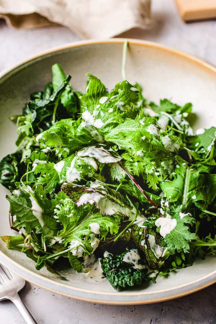Paleo salad dressing ranch yogurt I Heart Umami