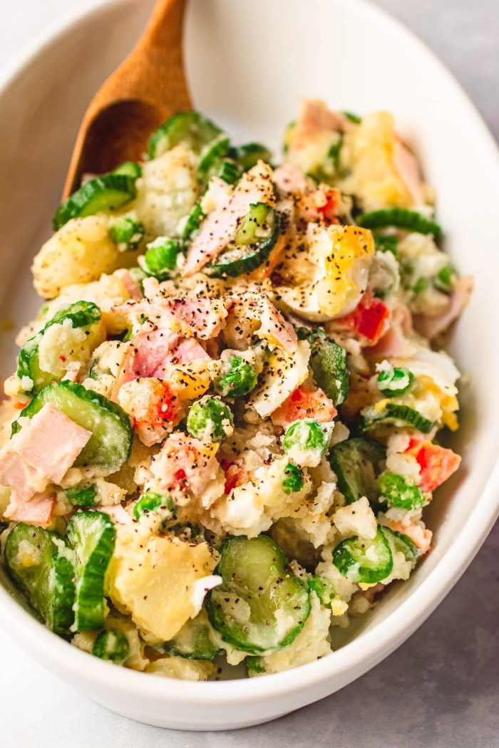 Japanese potato salad easy homemade Paleo and Whole30 I Heart Umami.