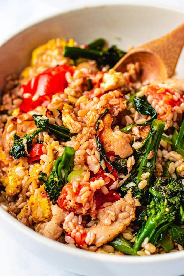 Paleo Thai Fried Rice with konjac rice I Heart Umami